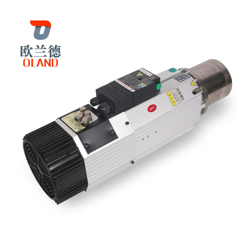 9KW Power CNC Spindle Motor 6.4Nm Torque For CNC Woodworking Machine