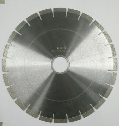 Fast Cutting Speed Durable Diamond Saw Blades For Cutting Granite / Marble